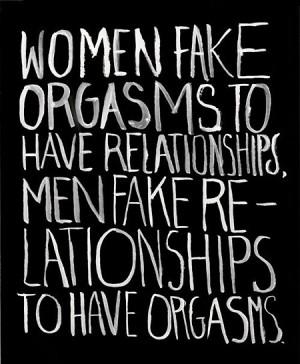 Funny men women relationships fake