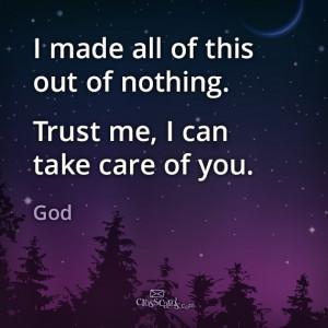 Gotta Let Go and Let God