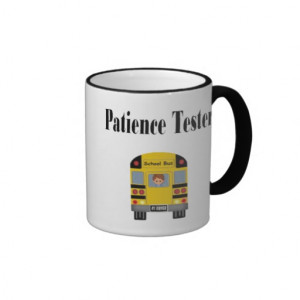 Funny Mug For School Bus Drivers Has With Child