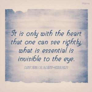 Antoine de Saint-Exupery #quotes