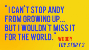 One of my favorite story lines from Toy Story. Woody is so faithful to ...