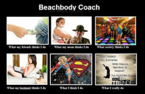 Each week, I get someone asking me about what Beachbody Coaches do.