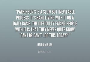 Quotes About Parkinson 39 s Disease