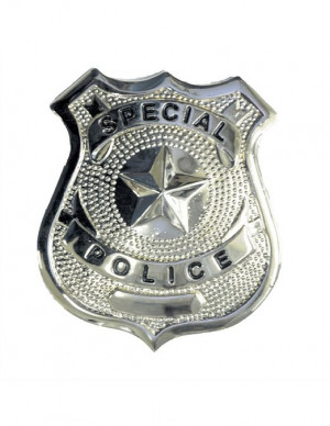 Costume-Accessory Badge Special Police Halloween Costume Item - 1 size