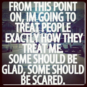 tired of being too nice! Tired of being considerate for what everyone ...