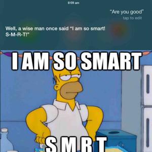 Siri Quotes The Simpsons???