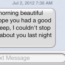 Cute good morning texts for your girlfriend
