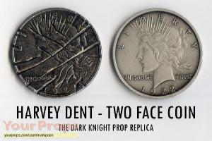 ... Begins, Batman The Dark Knight Harvey Dent 2-Face Coin Prop Replica