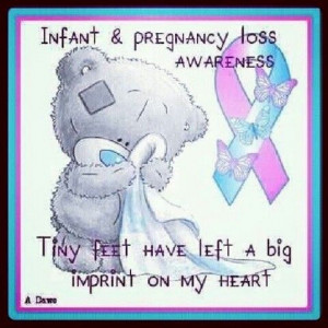 Poems And Quotes Pregnancy Loss Ribbons