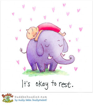 Buddha Doodles: It's Okay to Rest