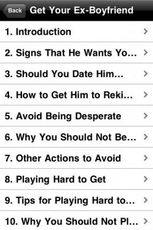 ... get your ex boyfriend back Ex Boyfriend And New Boyfriend Quotes