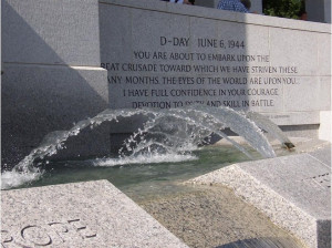 WWII General Dwight D. Eisenhower Quote - Washington D.C.