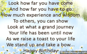 Inspirational Quotes For 50th Birthday ~ 50th Birthday Poems ...