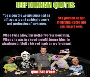 Funny Jeff Dunham Walter Quotes