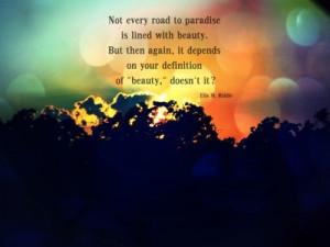 paradise quotes tumblr