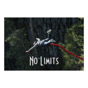 No Limits - Bungee Jumping Poster