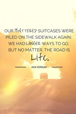jack kerouac on the road essays Jack kerouac's on the road road the ideas presented in the novel about life, beliefs, different feelings, and the kind of harassers depicted shaped america's youth culture for decades and the book became a sort of icon for this generation.