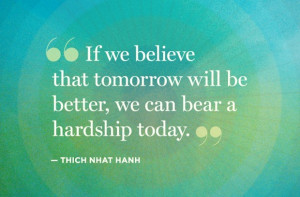 Tomorrow Will Be Better - Strength Quote