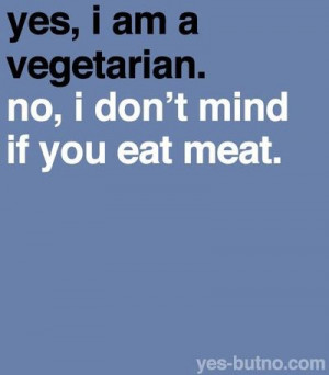 Vegetarian & tolerant
