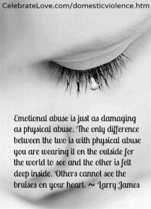 The emotional is far worse than the physical. | via Tumblr