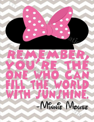 Mickey or Minnie Mouse Quotes on Etsy, $26.00 CAD