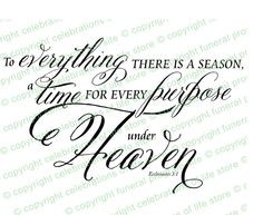 Predesigned Ready Made Scripture Bible Verses : A Season For ...