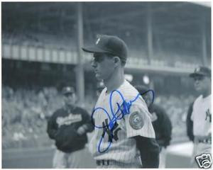 JERRY COLEMAN AUTOGRAPH SIGNED PHOTO NY YANKEES HOF