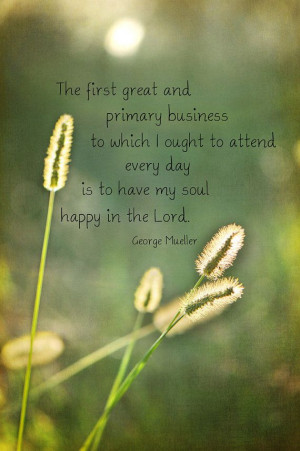 morning sun bokeh wheatfield green gold george mueller quote christian ...
