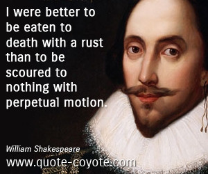 Shakespeare Quotes On Life and Death
