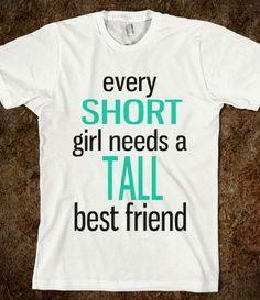 Short Best Friend - That's So Presh - Skreened T-shirts, Organic ...