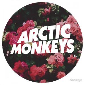 Arctic Monkeys floral logo
