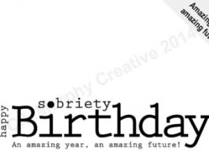 DOWNLOAD, Sobriety Birthday, Sobriety Anniversary, Sobriety, Recovery ...
