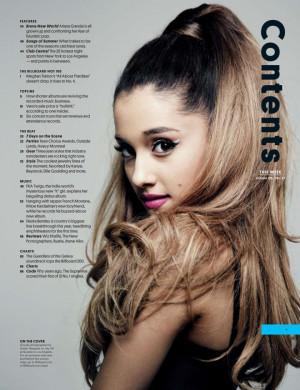 Ariana Grande – Billboard Magazine August 2014
