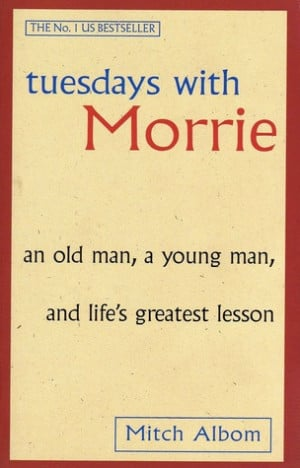 """Start by marking """"Tuesdays with Morrie"""" as Want to Read:"""