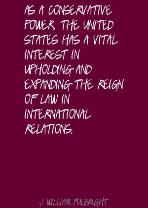 International Relations quote #2