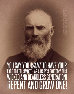 wicked and beardless generation!Quote taken from @SaintBeardrick