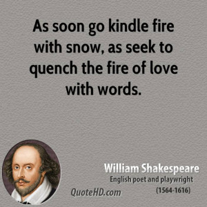 quench the fire of love with words fire love snow meetville quotes