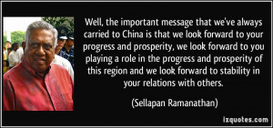 that we look forward to your progress and prosperity, we look forward ...