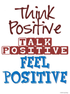 think positive thoughts power of positive thinking positive attitude ...