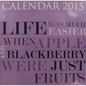 Home Stationery Calendars Funny Quotes 2015 Calendar
