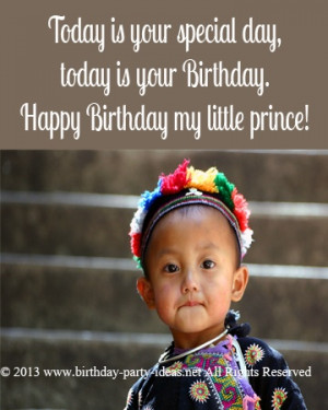 Today is your special day, today is your Birthday. Happy Birthday my ...