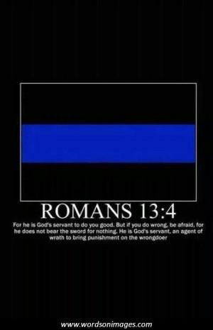 Romans 13 4 Thin Blue Line