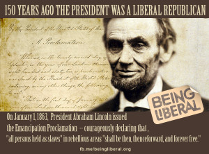 TODAY — We celebrate 150th Anniversary of Emancipation Proclamation ...