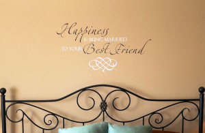 Happiness Best Friend Wall Decal