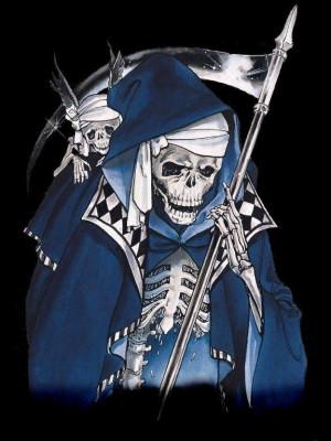 The Grim Reaper Ghost Rider