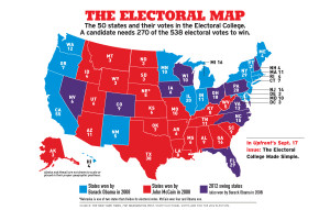Interactive Map of the Electoral College (kid-friendly)