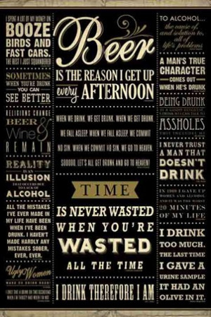 Friday Drinking Quotes I am! - drinking quotes