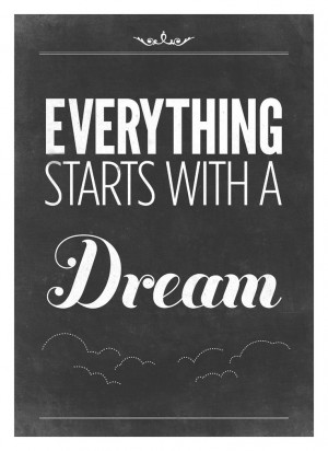 Inspiring Quote print Typography poster - Vintage-Style black and ...
