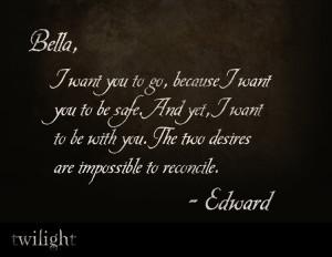 tumblr bella bella swan twilight quotes 1 love edward the twilight ...