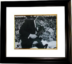 Vince Lombardi unsigned Green Bay Packers 16x20 Photo Custom Framed ...
